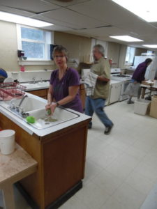 16-05-07 Open House #11--Jody washes dishes and Bob cleans up