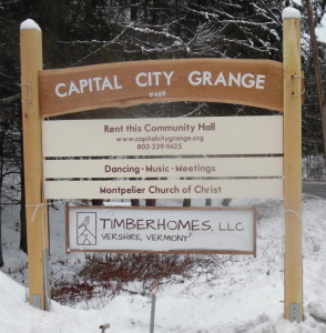 Grange sign with all signboards
